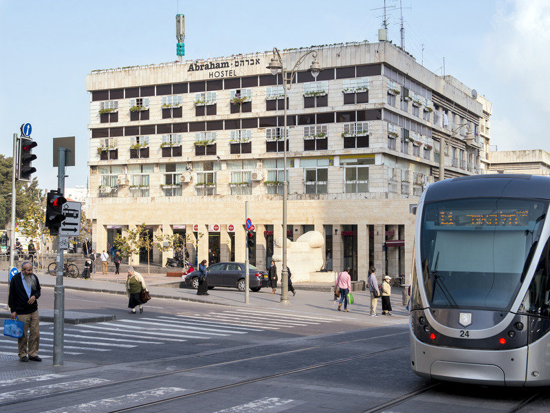 Abraham Hostel Jerusalem Außenaufnahme