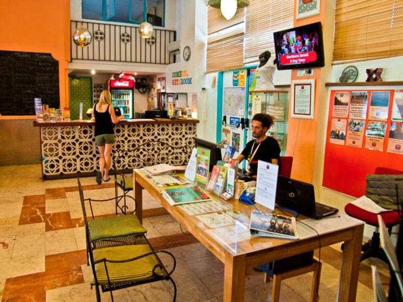 Abraham Hostel Jerusalem Lounge/Empfang