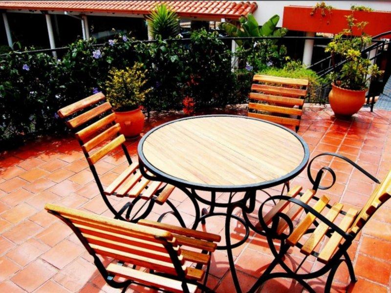 Casa Kolping Terrasse