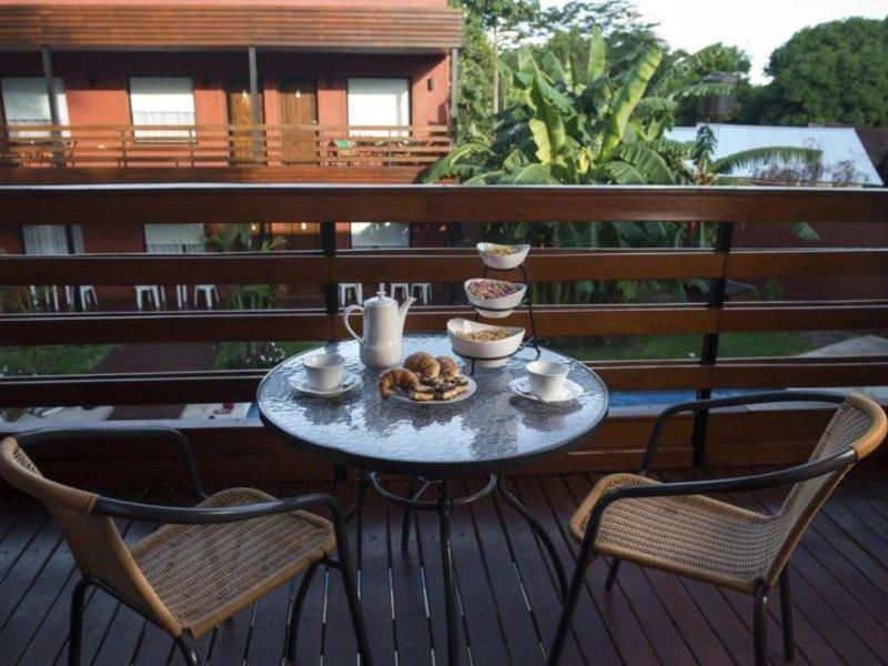 Costa Iguazu Apart Hotel Terrasse