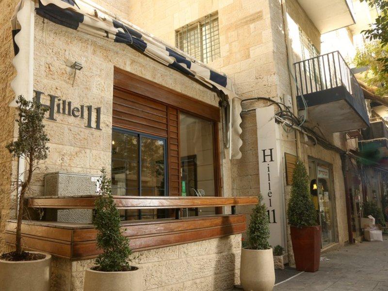Hillel 11 Hotel Außenaufnahme