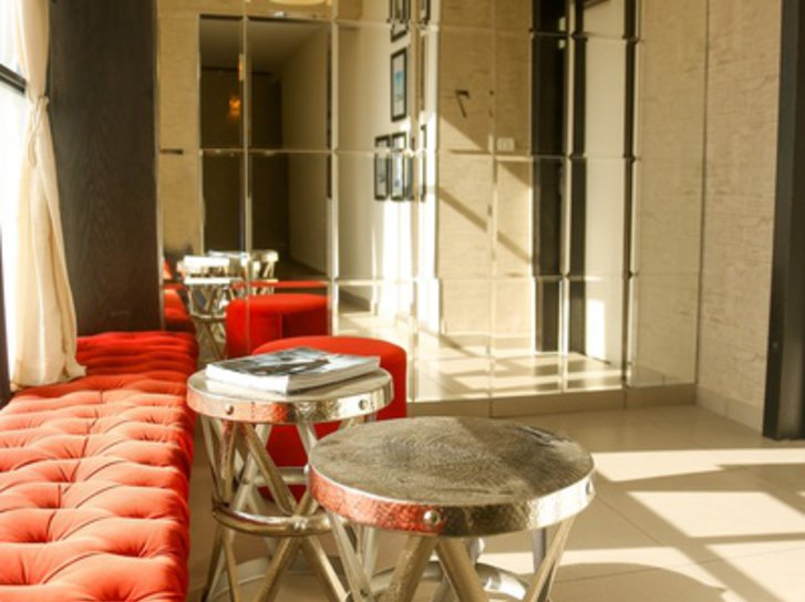 Hillel 11 Hotel Lounge/Empfang