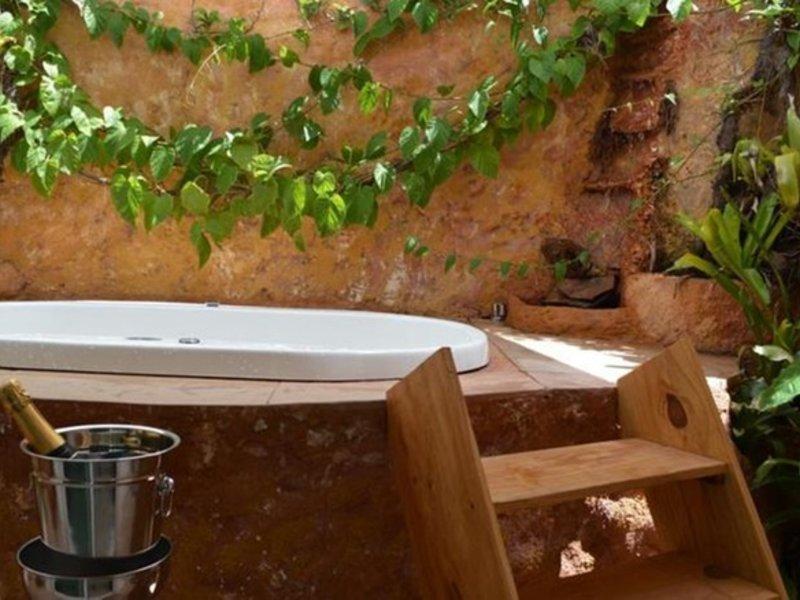 Bahia Inn Pousada Badezimmer