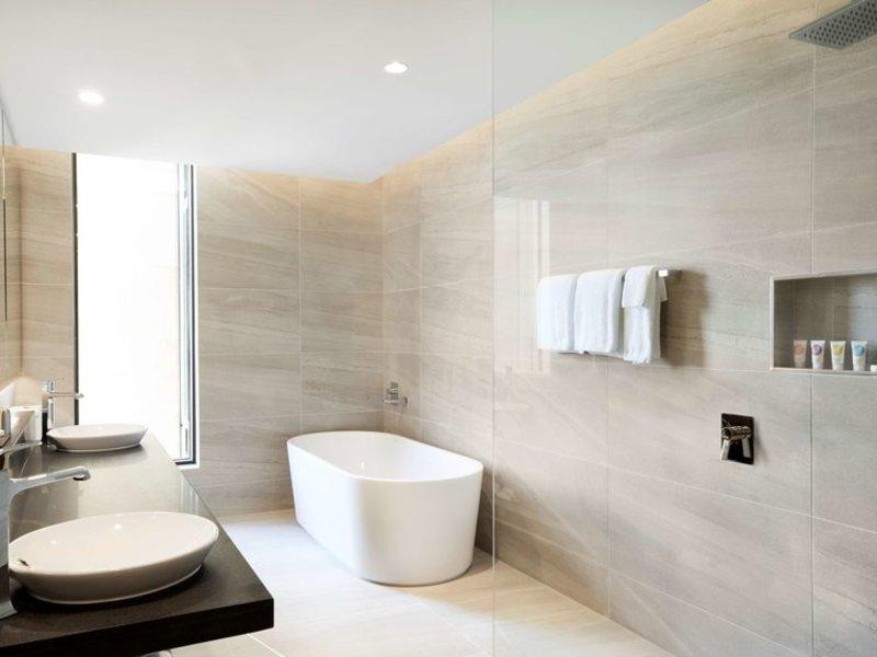Hyatt Place Melbourne Essendon Fields Badezimmer