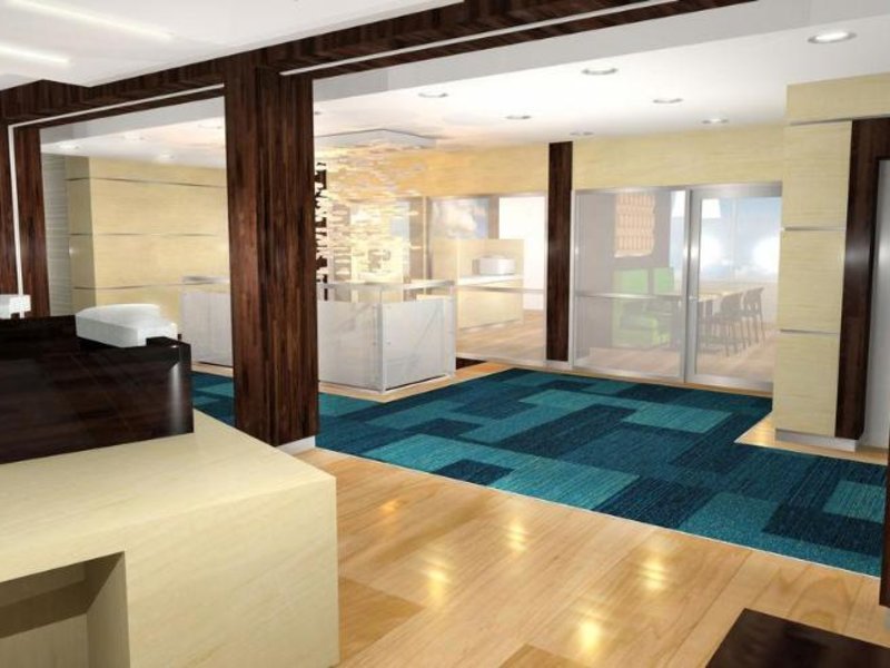 Fairfield Inn & Suites Calgary Downtown Lounge/Empfang