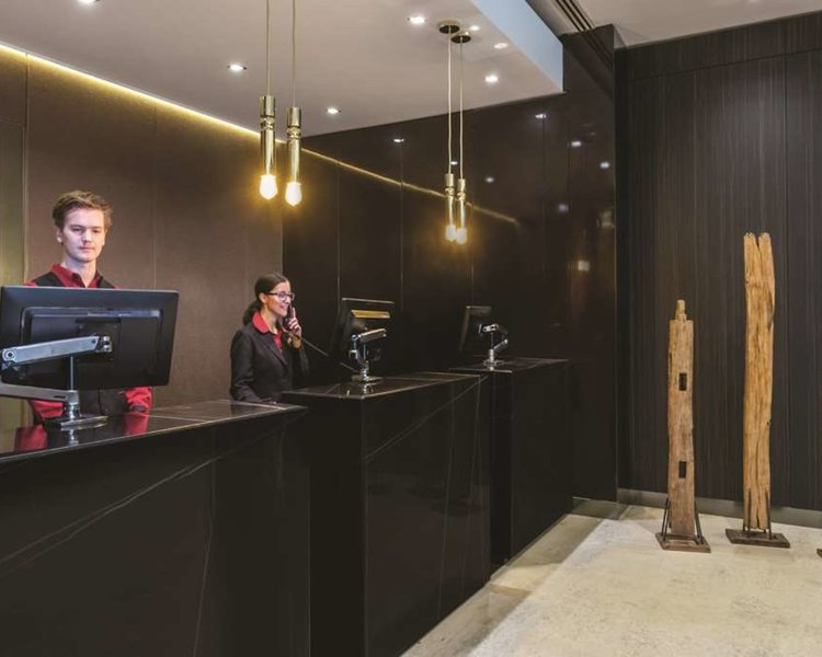 Adina Apartment Hotel Melbourne Lounge/Empfang