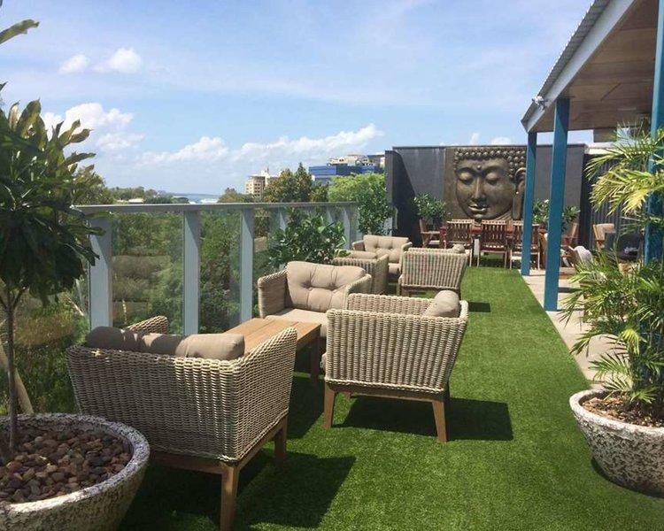 Ramada Suites Zen Quarter Darwin Garten