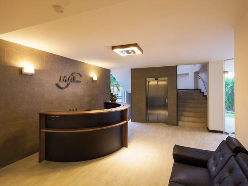 Mai Suites Apart Hotel Lounge/Empfang