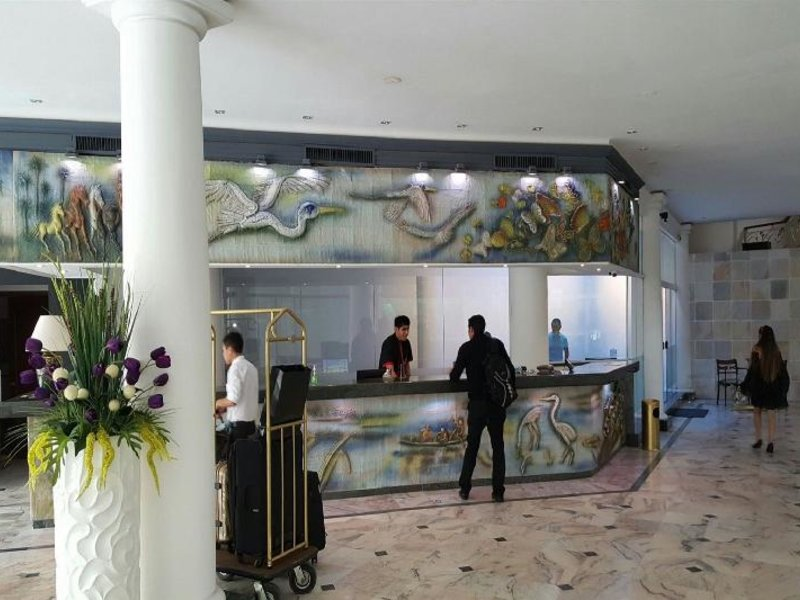 Senses Boutique Hotel Centro Lounge/Empfang