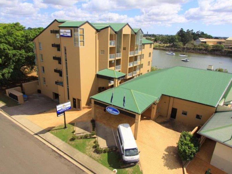 Burnett Riverside Motel Außenaufnahme