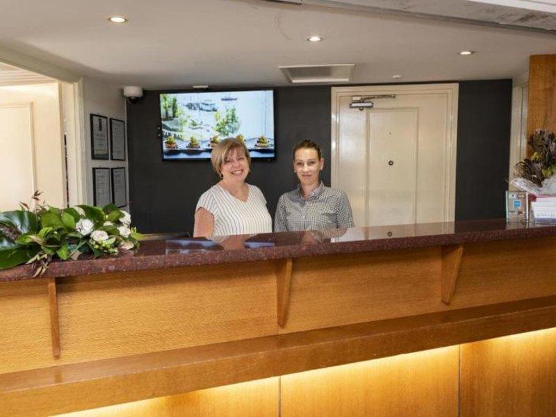 Burnett Riverside Motel Lounge/Empfang