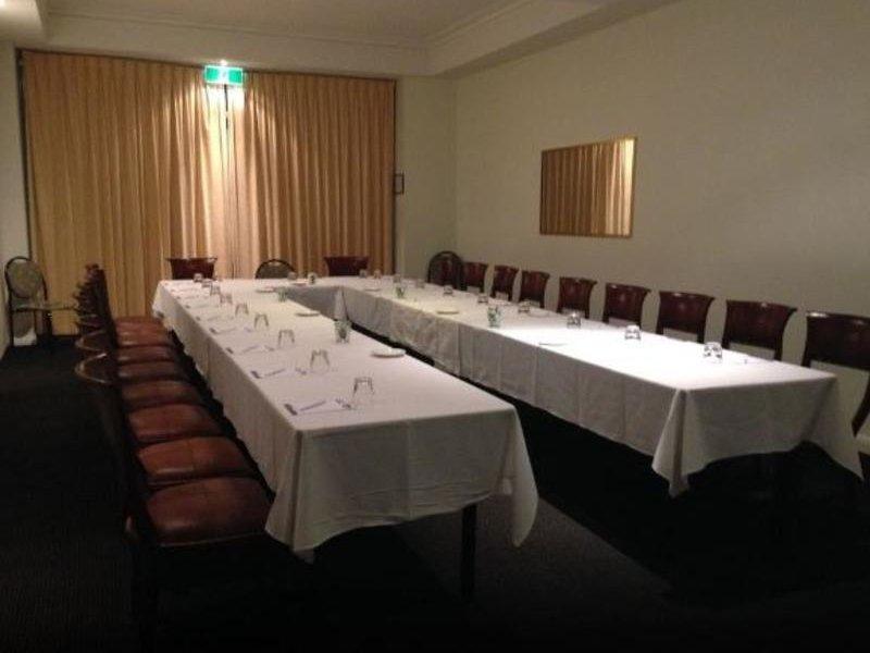 Burnett Riverside Motel Konferenzraum