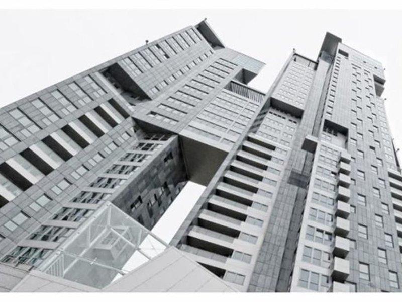 Sea Towers Modellaufnahme