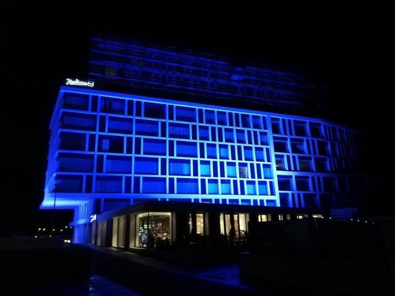 Radisson Blu Hotel Bruges Außenaufnahme