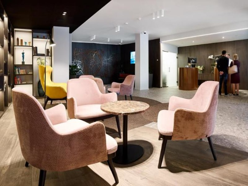 Radisson Blu Hotel Bruges Lounge/Empfang