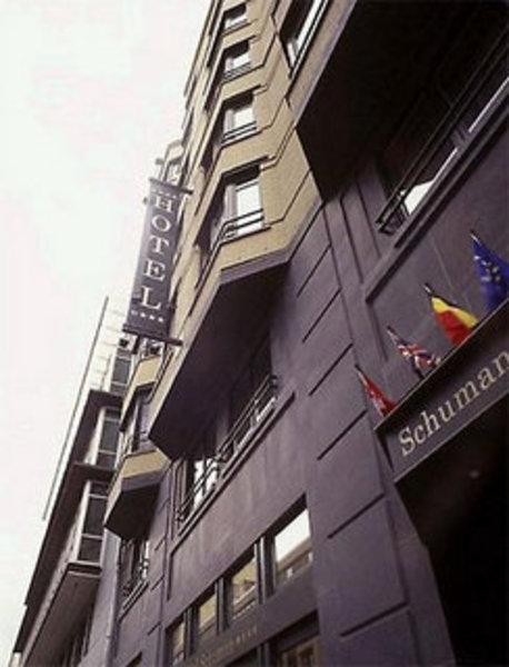 Holiday Inn Brüssel Schumann Außenaufnahme