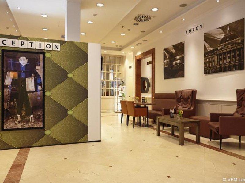 Holiday Inn Brüssel Schumann Lounge/Empfang