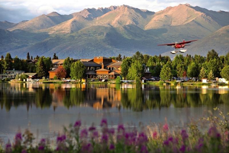 The Lakefront Anchorage Landschaft