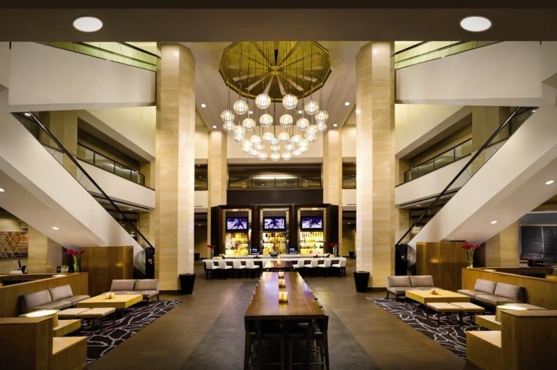 Hilton Anaheim Lounge/Empfang
