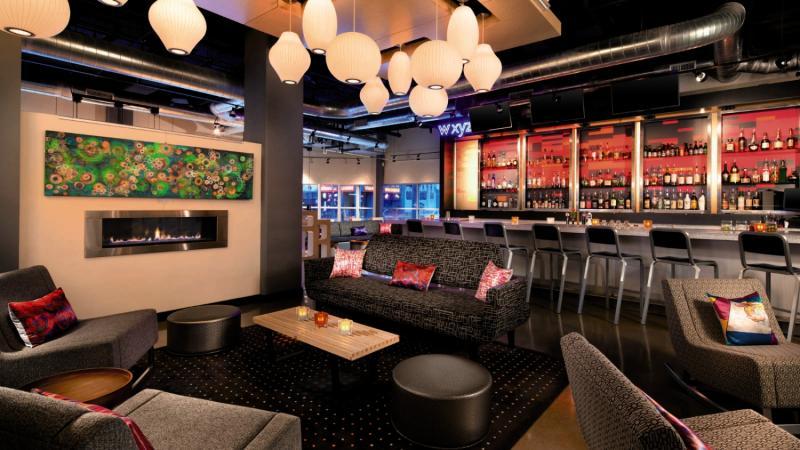 The Aloft Denver Downtown Bar