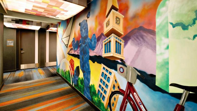 The Aloft Denver Downtown Sport und Freizeit