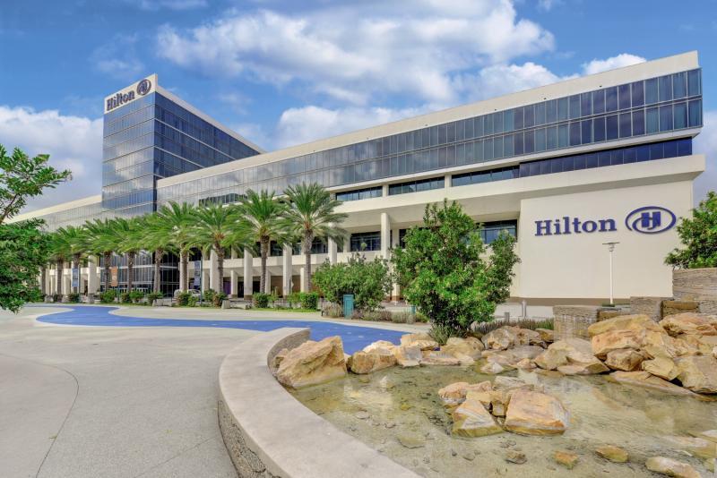Hilton Anaheim Außenaufnahme