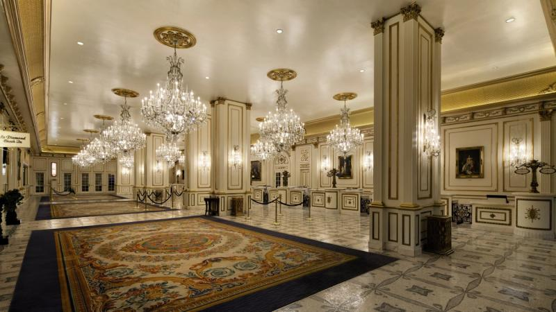 Paris Las Vegas Lounge/Empfang