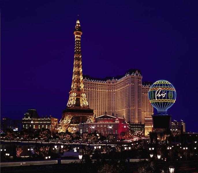 Paris Las Vegas Außenaufnahme