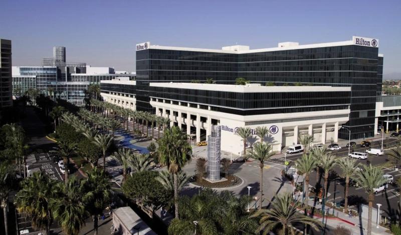 Hilton Anaheim Terrasse