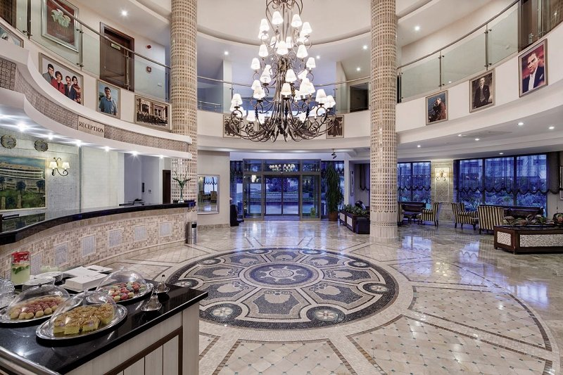 Alba Royal - Erwachsenenhotel Lounge/Empfang