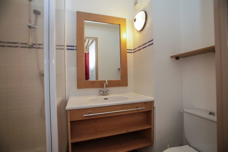 Odalys Residence Le Rond Point Des Pistes Badezimmer