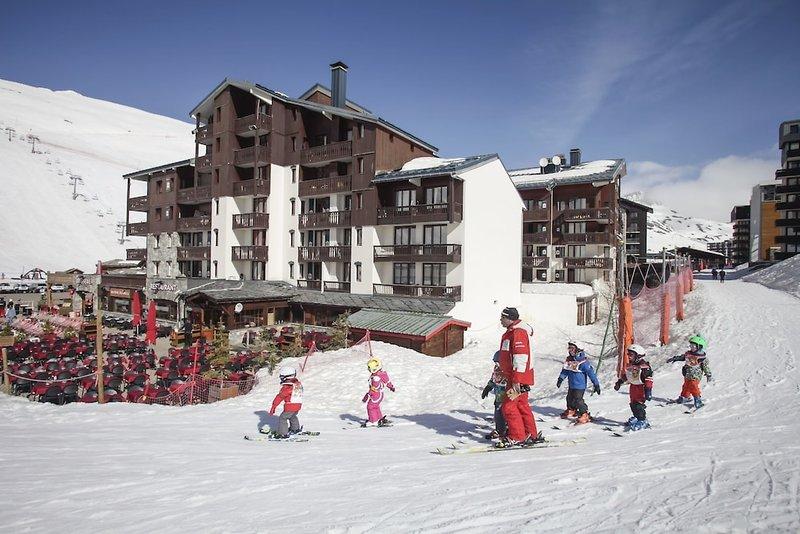Odalys Residence Le Rond Point Des Pistes Sport und Freizeit