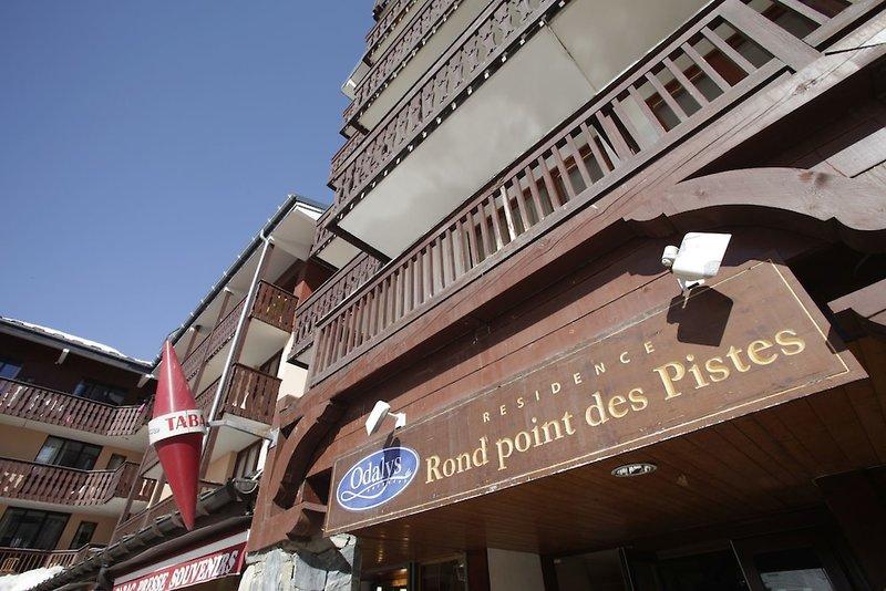 Odalys Residence Le Rond Point Des Pistes Außenaufnahme