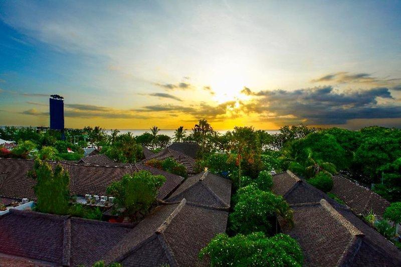 Kuta Seaview Boutique Resort & Spa Garten
