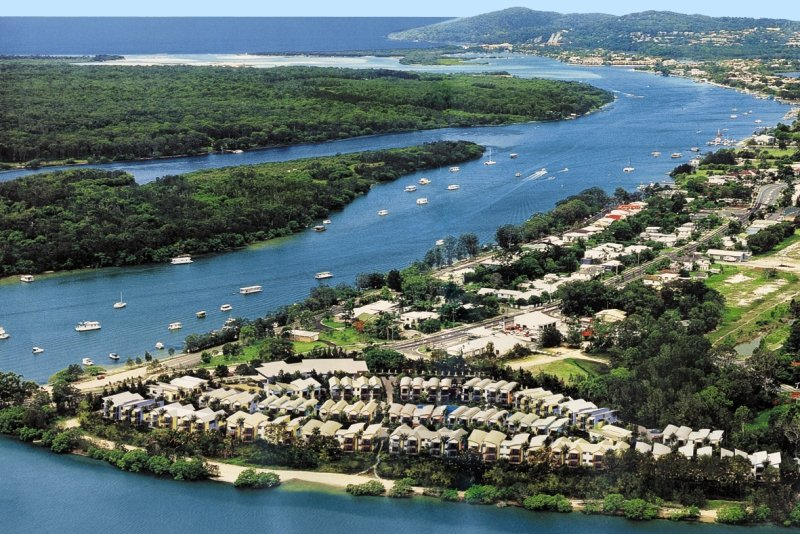 Noosa Lakes Resort Stadtansicht