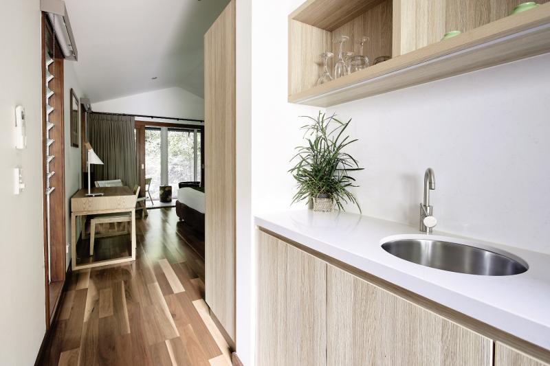 Daintree Eco Lodge & Spa Badezimmer