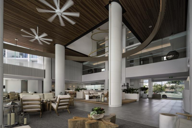 Riley, a Crystalbrook Collection Resort Lounge/Empfang