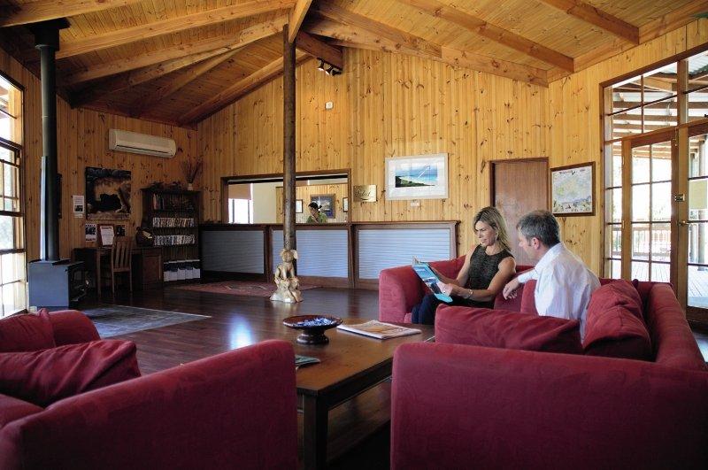 Kangaroo Island Wilderness Resort Lounge/Empfang