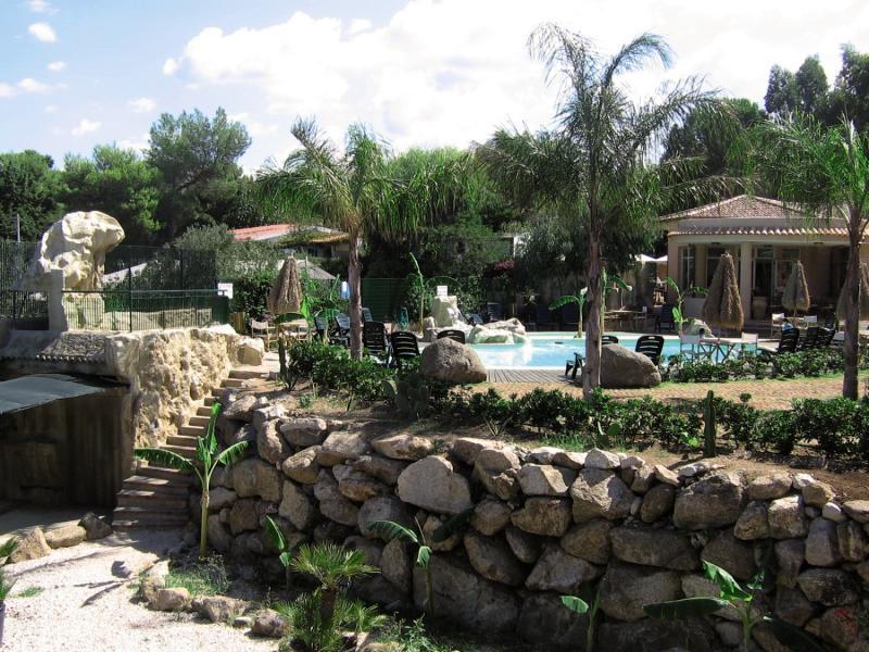 L´Arcobaleno Resort Garten