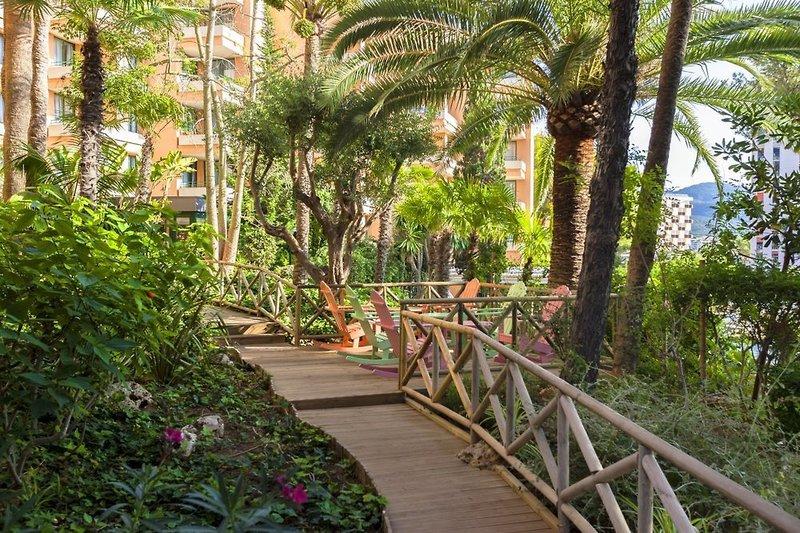 Globales Nova Apartments Garten