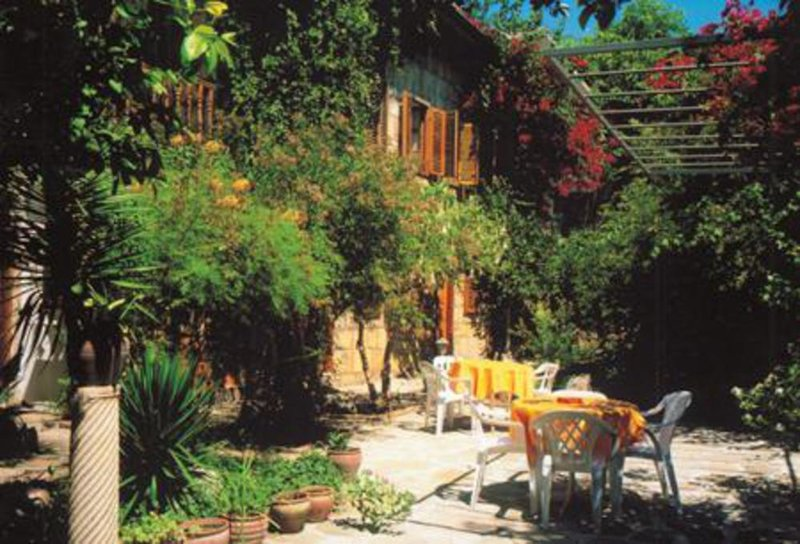 Pension Begonville Garten