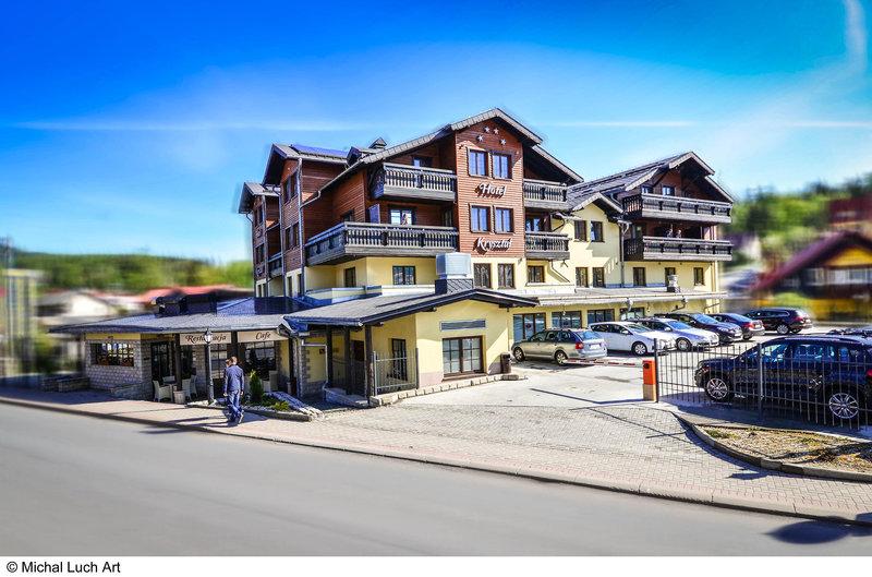 Hotel Krysztal Conference & Spa Außenaufnahme