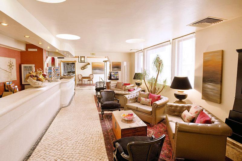 Hotel Do Cerro Lounge/Empfang