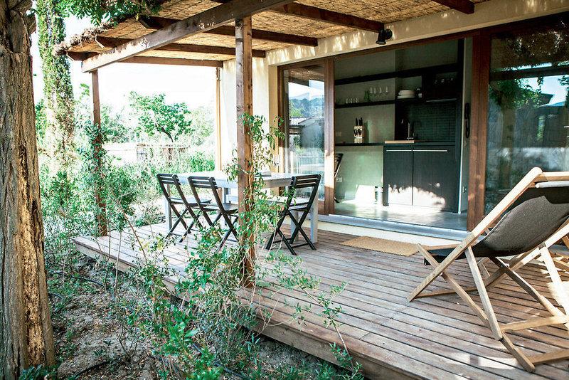 Camping & Village Rocchette Terrasse