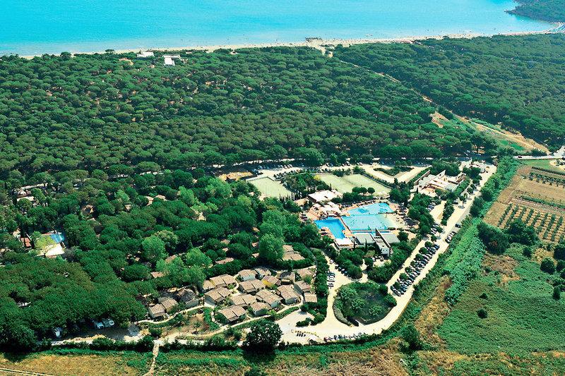 Camping & Village Rocchette Landschaft