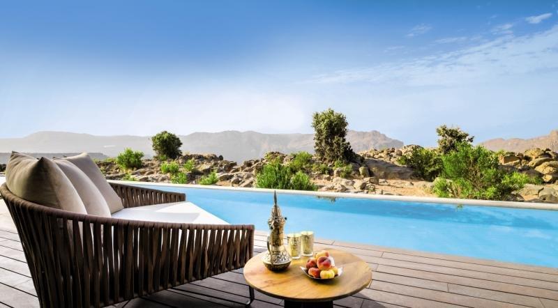 Anantara Al Jabal Al Akhdar Resort Pool