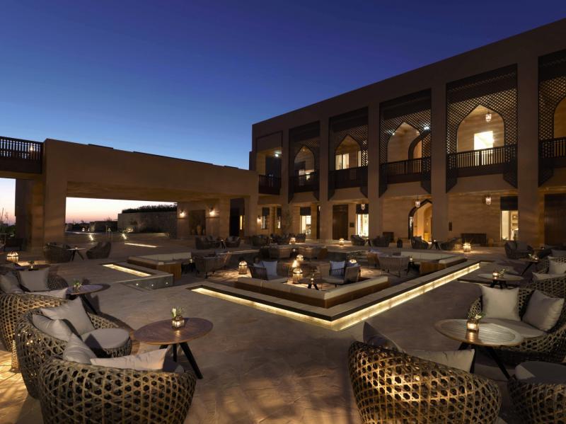 Anantara Al Jabal Al Akhdar Resort Terrasse