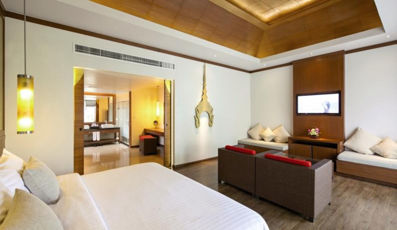 Beyond Resort Khaolak - Erwachsenenhotel Wohnbeispiel
