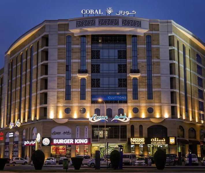 Coral Muscat Hotel & Apartments Außenaufnahme