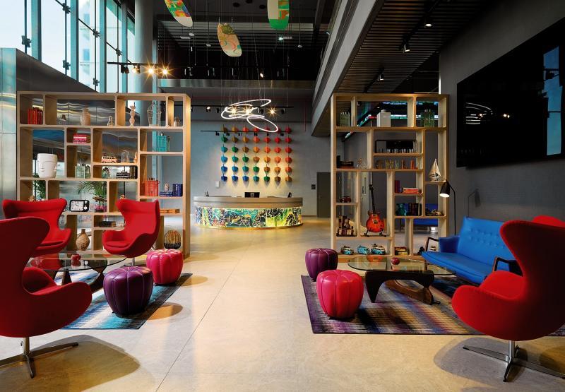 Aloft Palm Jumeirah Lounge/Empfang